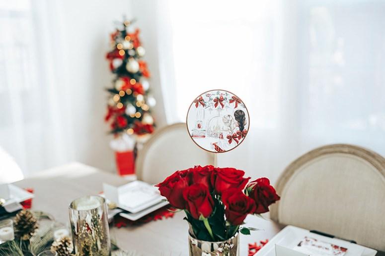 Ladies Holiday Brunch Decoration Ideas
