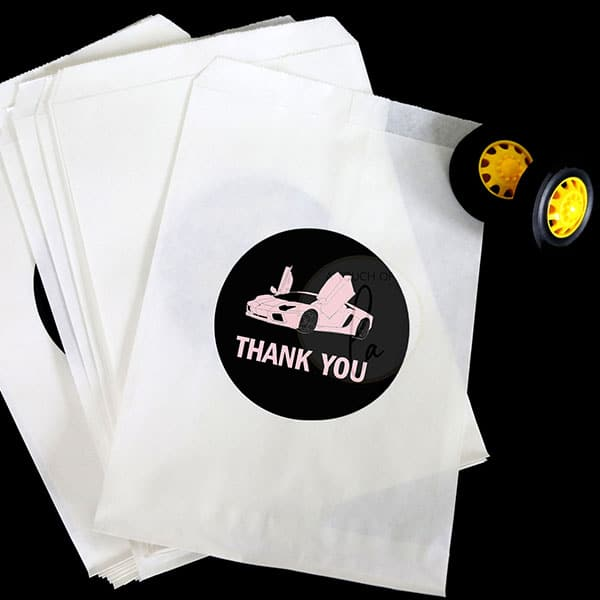 Pink-Supercar-Thank-You-Stickers