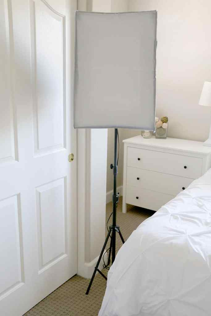 Lighting for In-Home Photography Studio