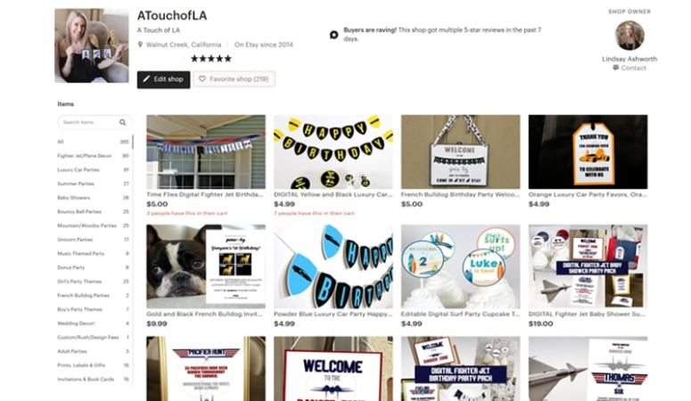 How I use Etsy to Sell on My Website 800