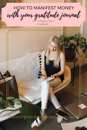 How to Manifest Money with Your gratitude journal