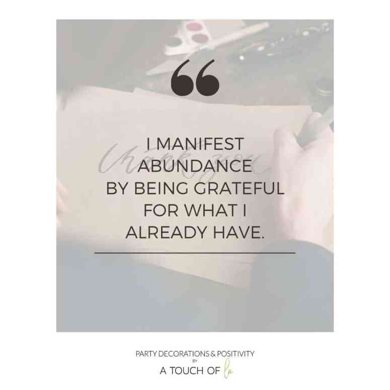 I manifest abundance for being grateful for what I already have: How I changed my life with daily gratitude
