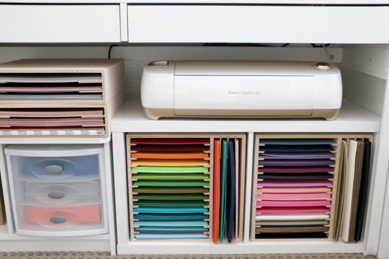 Cricut Cutting Machine Storage Solutions