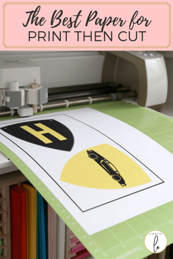 The Best Paper for Print Then Cut with Your Cricut Cutting Machine
