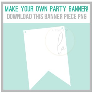 Banner Template for Cricut