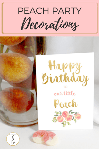 Peach-Party-Decorations
