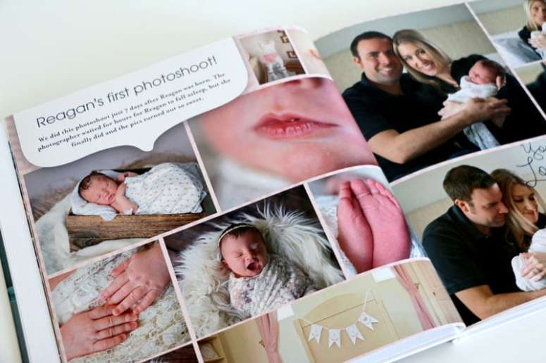First Photoshoot with Baby, Newborn Photoshoot in Baby Book