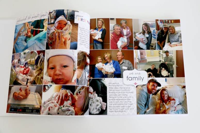 Baby's Arrival Day in Baby Book