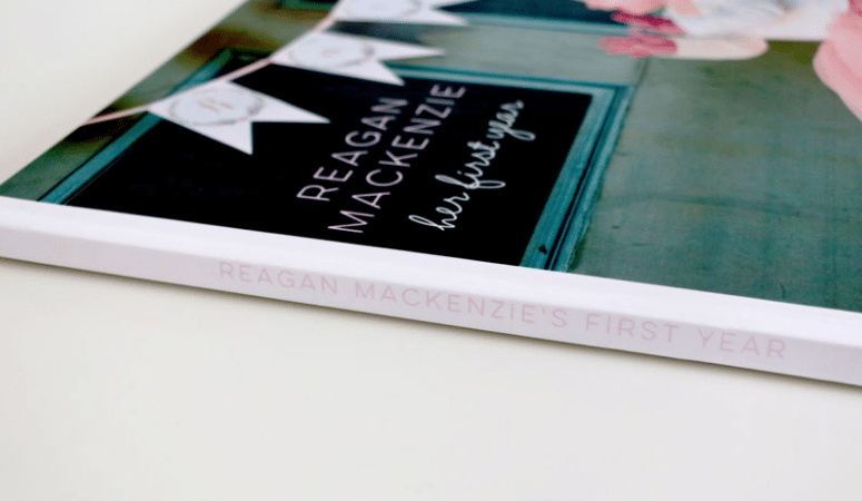 Make Your Own Baby Book Online: 1st Year Photobook