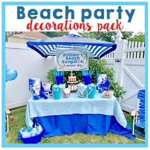 Beach Party Decorations Pack A Touch of LA