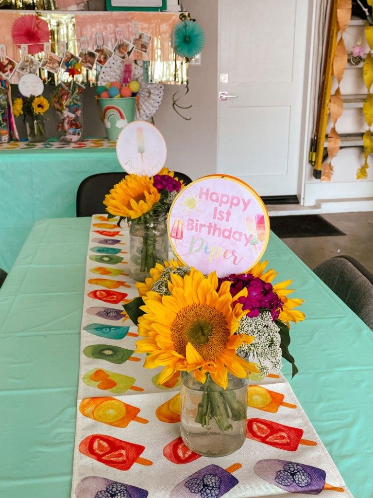 Popsicle Party Tablescape