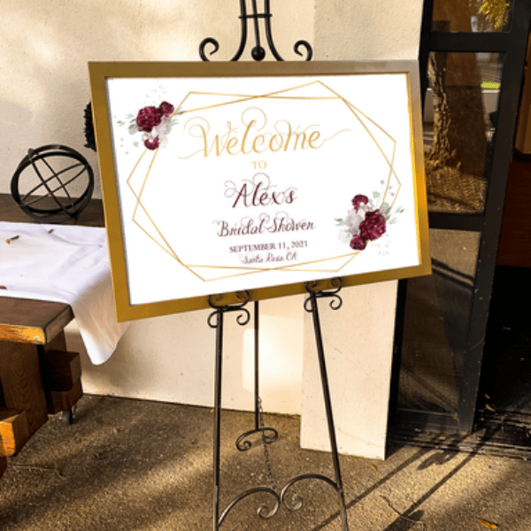 Editable Welcome Sign