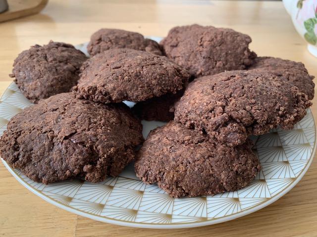 biscuit cacao peu sucré