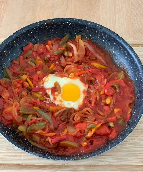 chakchouka healthy poele
