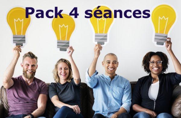 pack 4 séances sophrologie Groupe entreprise