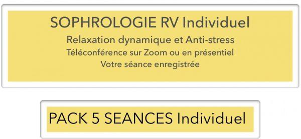 Forfait 5 RV individuel sophrologie lyon