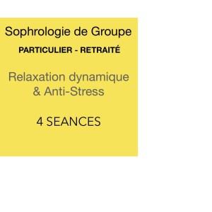 Pack 4 séances de sophrologie