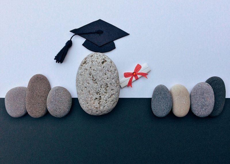 Etudiants diplomés zen