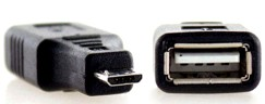 Adaptateur MicroUSB-USB
