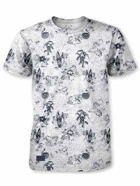 T-Shirt Point Zero 741124 blanc