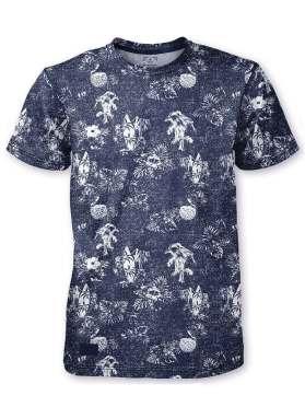 T-Shirt Point Zero 741124 marine