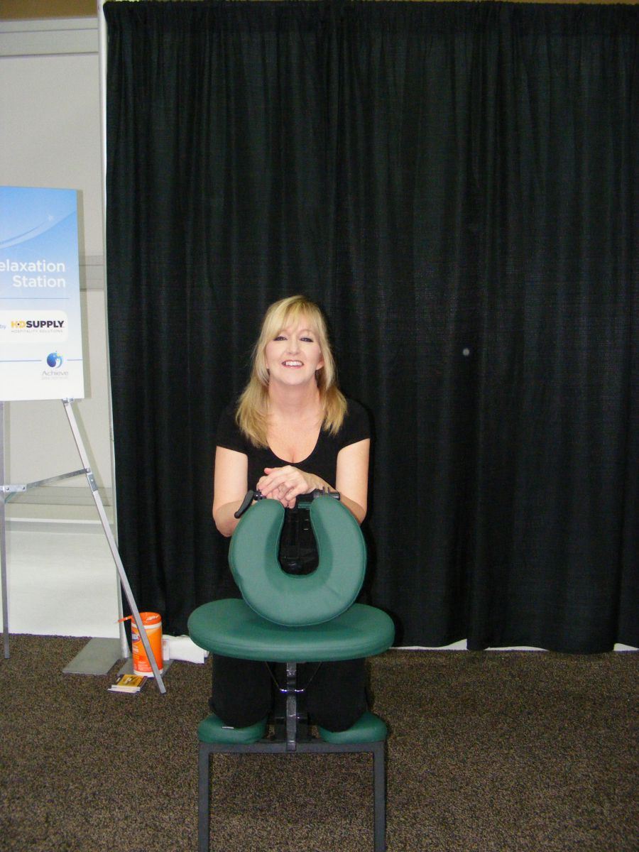 Massage Therapist Chair Best Las Vegas Chair Massage Therapist For Conventions A1193