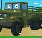 Army Trucks Hidden Letters