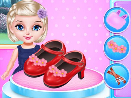 Little Princess Fashion Shoes Design