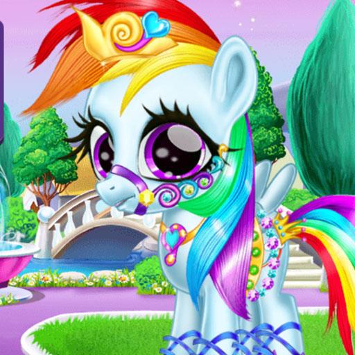Rainbow Pony Caring