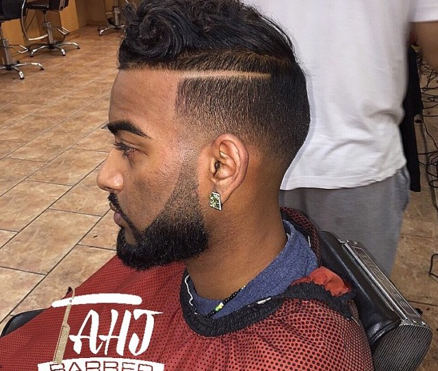 Curly Afro Fade