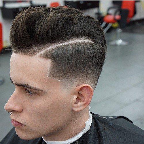 modern pompadour hairstyles