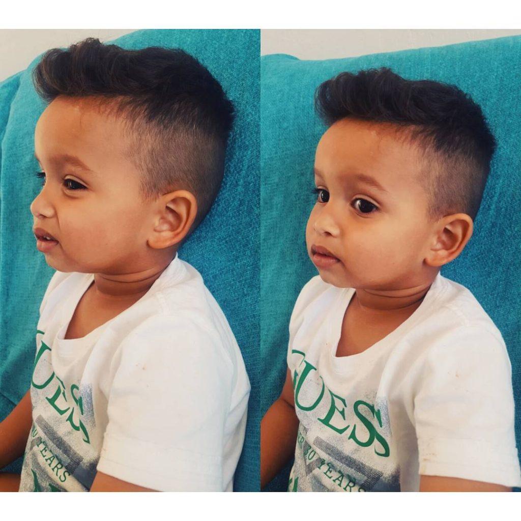 Trendy Little Boy Haircuts Undercut