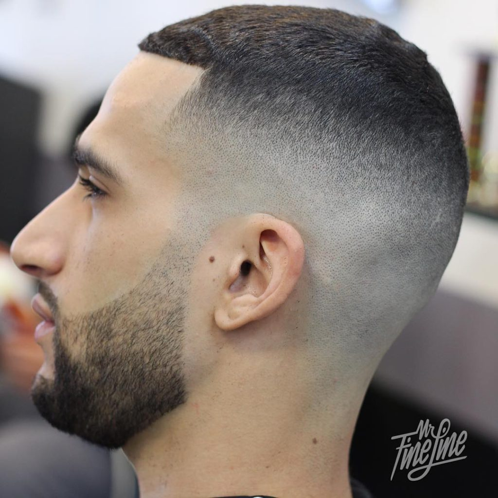 top taper fade haircut men