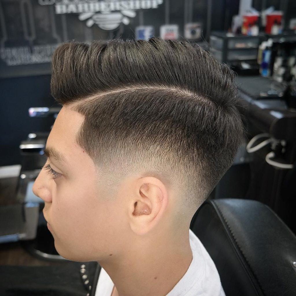 side part haircuts 40