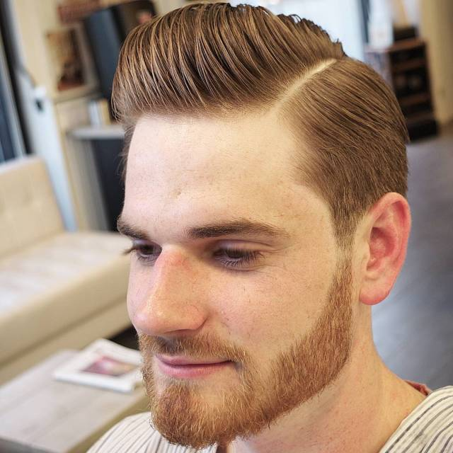 side part haircuts: 40 best side part hairstyles for men