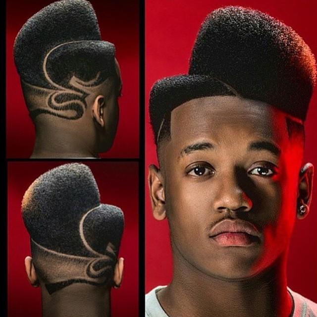 flat top haircut men's flat-top