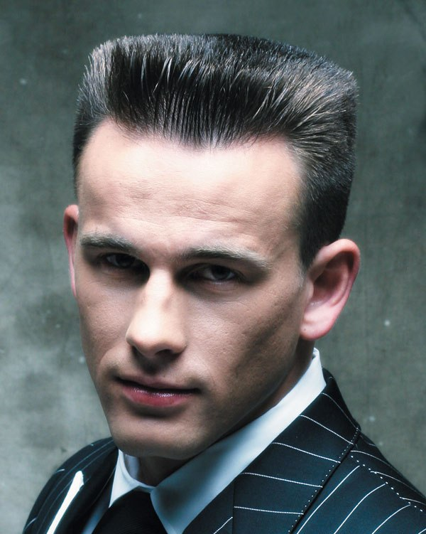 flat top haircut men's flat-top