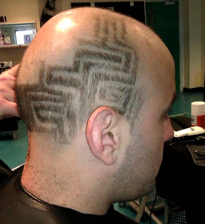hair tattoo design 20 cool