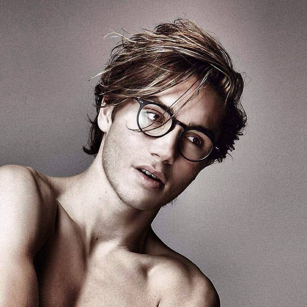 4041be0c24 Hairstyles For Men And Boys With Glasses 2018 Atoz Hairstyles