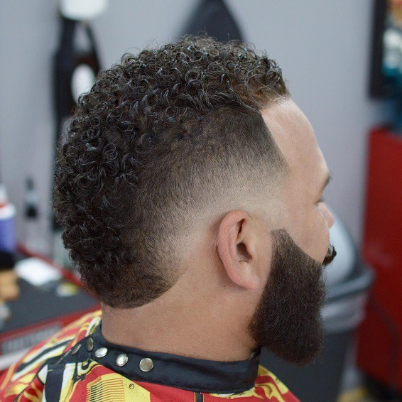 drop fade haircut