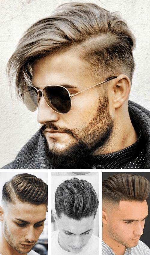 types of haircuts - men haircut