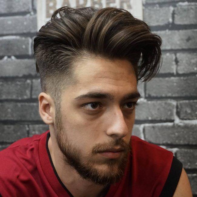 side swept hair 20 classic