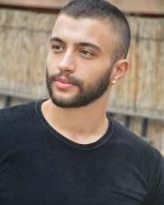 short hair with beard 20