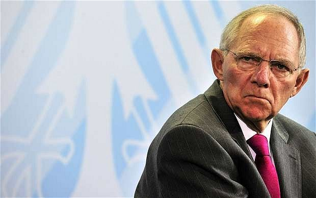 Schaeuble says Grexit is better