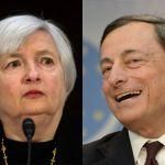 EURUSD in focus as Yellen and Draghi speak