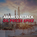 Crude oil Price spikes after attack on Aramco facilities