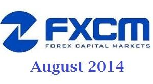 FXCM August MoM Retail Volumes up by 14%