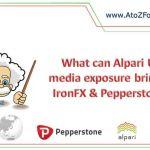 Alpari UK: IronFX & Pepperstone media show?