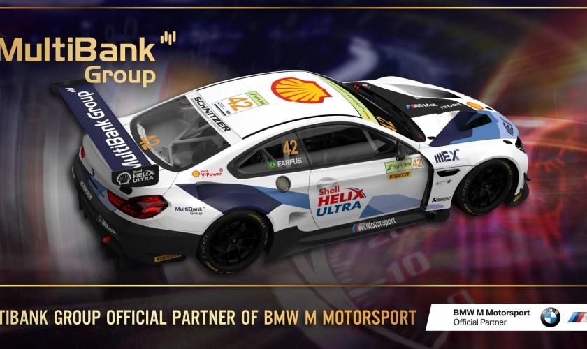 MultiBank Group Signed as Official Partner of BMW M Motorsport
