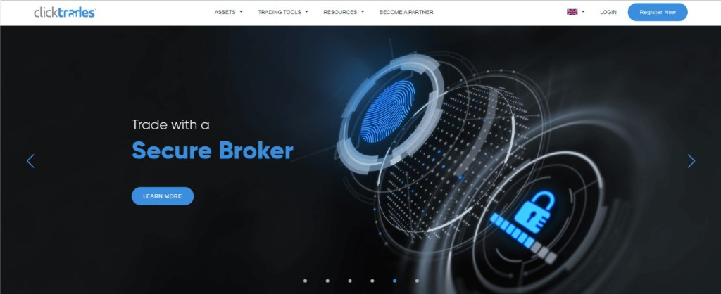 ClickTrades secure broker